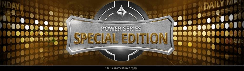 Concorrência da Semana Partypoker Power Series